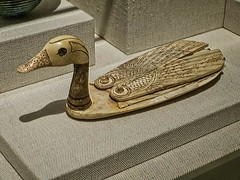 Pintail Duck-shaped cosmetic box Egypt or the Levant, New Kingdom 18th-20th dynasty 1550-1196 BCE Ivory (mharrsch) Tags: bird animal duck ancient box egypt ivory maryland baltimore cosmetics 18thdynasty waltersartmuseum pintail newkingdom 19thdynasty 16thcenturybce 15thcenturybce 12thcenturybce 14thcenturybce 13thcenturybce 20thdynasty mharrsch
