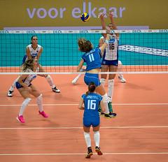 PA018046 (roel.ubels) Tags: italy rotterdam european russia final quarter volleyball ek championships ahoy volleybal rusland italië ec 2015 kwartfinale