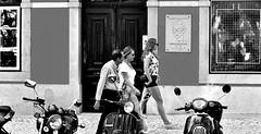 (mgkm photography) Tags: street urban blackandwhite bw blancoynegro portugal monochrome 50mm calle lisboa lisbon candid streetphotography gimp streetphoto pretoebranco blackandwhitephotography streetshot urbanphotography fotografiaurbana lisboanarua blackwhitephotos candidstreet nikonphotography opensourcephotography ilustrarportugal d7000 streettogs