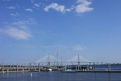 Charleston SC (WILSON-53) Tags: bridge sc water river boats dock charleston sail roper boatdock