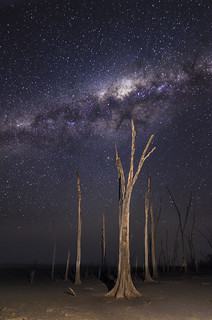 Reaching for the Milky Way - Lake Dumbleyung, Western Australia