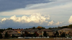 October 20, 2015 - Thunderstorms to the north of Broomfield. (David Canfield)