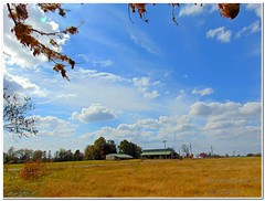 Beautiful Clouds (Snapshots by JD) Tags: sky oklahoma clouds westville