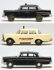 Mercedes Taxis 1-87 (adrianz toyz) Tags: wiking brekina mercedesbenz taxi 187 scale ho plastic mercedes adrianztoyz
