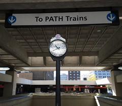 (edrodzen) Tags: newjersey nj clock portauthoritytranshudson path jerseycity journalsquare jsq
