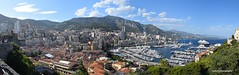 Monaco Panorama (Markb1985) Tags: street city travel panorama mountains nikon europe view wide panoramic monaco hills principality princespalace nikond5300