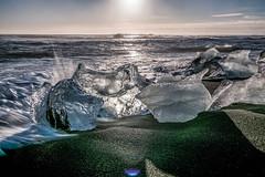 2016-11-Iceland-2699.jpg (Warren Henry Lewis) Tags: iceland surf icecubes blackbeach jkulsarlon beach ice