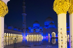 2015 Big Mosque (jeho75) Tags: blue night nacht sony mosque hour abu dhabi 6000 moschee ilce