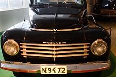 Classic car Volvo 444 (trankoket) Tags: volvo grill gammal ratt klassiker veteranbil personbil vindruta torkarblad motorhuv volvomuseum raritet strlkastare vindrutetorkare