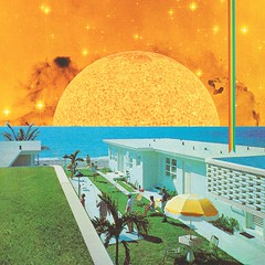 Summer house (Mariano Peccinetti Collage Art) Tags: flowers summer sun art beach collage architecture kids vintage golden rainbow 60s arte surrealism dream surreal retro lsd collageart dreams 70s surrealist meditation trippy psychedelic psych cutandpaste dmt picnicday globular vintageart collageartist peccinetti collagealinfinito marianopeccinetti collageartcollagecollectiveco