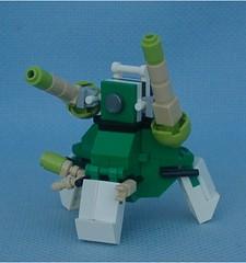 Triskelion Heavy (Mantis.King) Tags: lego walker scifi futuristic mecha mech moc multiped microscale tripletchallenge mechaton mfz mf0 mobileframezero