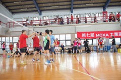 7thMoxaBadmintonIndustrialCup132 (Josh Pao) Tags: badminton 師大附中 羽球 大安站 moxa 第七屆 邀請賽 艾訊 四零四 axiomtek 工業盃 工業電腦盃