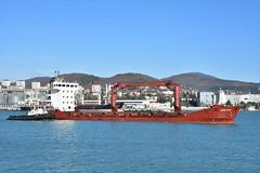 Tuapse (diegomaradonatuapse) Tags: sea black ship     tuapse   nikond7200