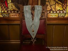 Inside the Freemason's Masonic Hall