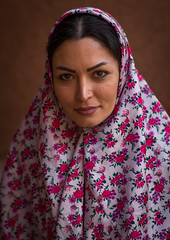 portrait of an iranian woman wearing traditional floreal chador in zoroastrian village, Isfahan Province, Abyaneh, Iran (Eric Lafforgue) Tags: flowers portrait people woman tourism wearing vertical female clothing women village veil dress iran muslim traditional headscarf middleeast headshot clothes covered shia iranian tradition cloth aging abyaneh oneperson chador traditionalclothing 20sadult midadultwoman persiangulfstates abiyaneh floreal onewomanonly lookingatcamera إيران иран 16174 colourimage 1people イラン irão isfahanprovince redvillage 伊朗 westernasia 이란 natanzcounty