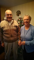 My Mum and Dad. (Sharon B Mott) Tags: christmas love happy parents couple dad december father mother mum caring mumanddad oaps sonyxperiaz3
