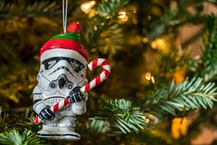 The Empire Wishes You a Merry Xmas (waarondaniel) Tags: christmas holiday toy starwars nikon bokeh ornament stormtrooper d3300