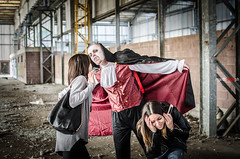 DSC_6443 (Marco Frig Photographer) Tags: girls red urban black halloween work project dark costume nikon artist factory vampire story horror diaries vampiri