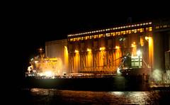 Laker at Night (beverlyks) Tags: night grain greatlakes nighttime manitoulin shipping laker richardsongrainterminal thunderbayoncanada beverlysoloway