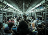 NYC Subway (Jim | jld3 photography) Tags: new york city nyc subway mass transit public cinematic people linearperspective converginglines mood beats street photography candid nikon d800 24mm 14g wide shallow depth field dof jld3