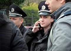 The first duty (Ігор Кириловський) Tags: ukrainianpolice chernivtsi ukraine xfujinon fm 50mm f19