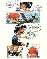 #comic #childhood #innocence #firstlove #crush #school #india #minicomic #zine #indiecomics #Hanni #art #illustration #cover #stories #kids #watercolor #love #webcomic #firstmeet (lipuster) Tags: childhood life kids india innocence stories art illustration sketch drawing
