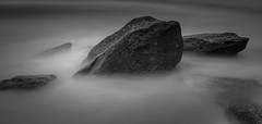 Earth (Martin Snicer Photography) Tags: bw nature longexposure ndfilter landscape 6d 50mm composition ocean rock earth