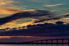297/366 (romainjacques17) Tags: canon 6d 365project 365 project365 picoftheday ef135mm 135mm l sea seascape bridge sun sunset colors larochelle france