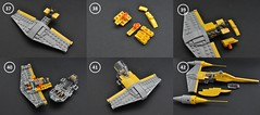 Naboo N-1 instructions (4) (Inthert) Tags: naboo lego moc ship star wars n1 phantom menace r2d2 fighter royal starfighter instructions