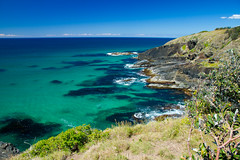 Surprised how astonishing this place was and how crystal clear the water was!! (Todd Henshall) Tags: australia nsw scottshead