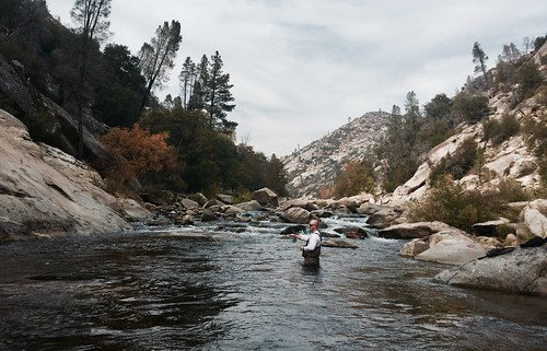 Fly fishing, Kernville, CA