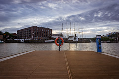 The Walk Way (Joshua Maguire Photography) Tags: landscape fine art travel hiking adventure nature texture bristol avon docks cityscape city