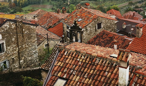 Rooftops of Motovun