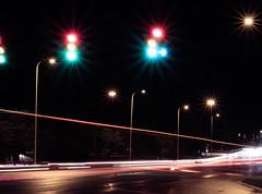 Night Traffic (andyhenderson2) Tags: blurredlines greenorangered lights nighttraffic