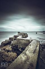 Zig Zag (ianbrodie1) Tags: st monans scotland pier water sea seascape coast coastline zig zag zigzag concrete longexposure
