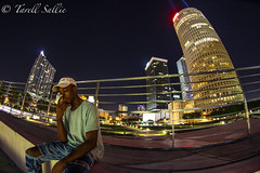 Wide emotions. August 2016 (tarell_sallie) Tags: tampa florida tampabay hillsborough hillsboroughcounty usa unitedstates america unitedstatesofamerica august 2016 city citylife cityscape canon canont3i fisheye wideangle skyline skyscrapers highrise building park citypark curtishixonpark exposure nightexposure nightphotography fs copyright lightroom macbook landscape landmark hdr bbt bankofamerica regions wellsfargo pnc suntrust style blackperson blackguy hat vans attire splendid beautiful eyecatching portrait tower towers