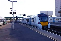 700111 Gatwick 10.10.16 (jonf45 - 2.5 million views-Thank you) Tags: trains railways br british rail thameslink class 700 700111 gatwick airport emu electric multiple unit 3rd
