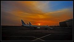 Au revoir, Maroc! ((Imagine) 2.0) Tags: panasonicdmcgx80 2016 morocco leicadgsummilux15mmf17 marrakech tourism transportation sunrises scenery airport menara panasonic lumix travel