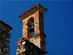 Bell tower in Sirmione at  Lago  di  Garda (Ostseetroll) Tags: geo:lat=4549349824 geo:lon=1060836052 geotagged ita italien lombardia sirmione lagodigarda gardasee glockenturm campanile belltower italia italy
