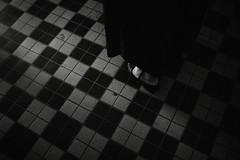 Checkered (gol-G) Tags: sony a7 ilce7 alpha7 nokton 35mm f12 vmadapter voigtlandernokton35mmf12aspherical digital bw japan