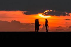Sunset (dannie843) Tags: aberystwyth wales ceredigion friends d3200 sunset cymru