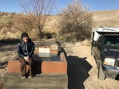 Benton hot springs campsite (cyberhobo) Tags: ann campsite hotspring