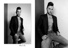 shoot Florian version studio impro (Dioudz San) Tags: ilca77m2 1835mm sigma glamour masculin tatouage