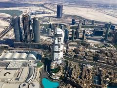 Vy från Burj Khalifa (jessicatrolin) Tags: burj khalifa