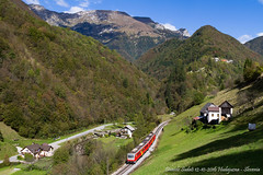 Natura incostrastata (Daniele Sudati) Tags: 813 814 sz slovenia slovenskeeleznice bohinjskaproga transalpina wocheinerbahn vlak treno