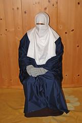 Slave Girl (Buses,Trains and Fetish) Tags: burka hijab chador niqab poncho rain girl slave sweat