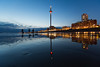 British Airways i360 at lowtide (lomokev) Tags: ground ratseyeview low groundlevel canoneos5dmarkiii canoneos5dmark3 canon eos 5d reflection beach i360 brightoni360 britishairwaysi360 sand dusk marksbarfield bluehour architecture