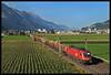 ÖBB 1116 092, Vomp, 18-08-2011 (Sander Zwoferink) Tags: öbb1116092 vomp 18082011 2011 österreichischebundesbahnen oostenrijk alpen alps öbb öbb1116 1116 1116092 uc houttrein boomstammen schwaz