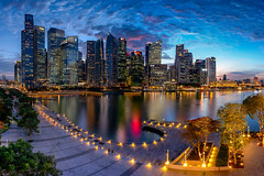 Puffy (- Etude -) Tags: none singapore zachchang marinabay cityscape bluehour clouds puffy sony a7ii