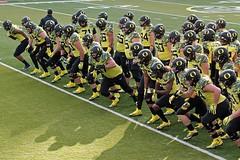 Halftime (C.P. Kirkie) Tags: ducks universityoforegoncheerleading oregon oregonducks oregoncheer autzenstadium eugene